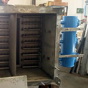 Dispositivo pulizia scambiatori di calore