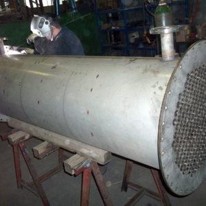 Scambiatori di calore fumi-acqua per industria chimica