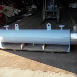 Scambiatori di calore fumi-acqua per cogeneratore alimentato a metano