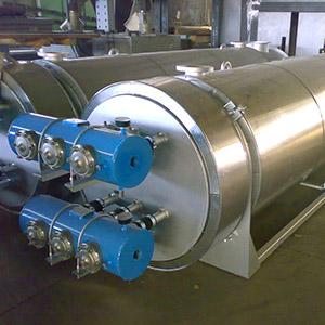Scambiatori di calore fumi-acqua per impianto crematorio