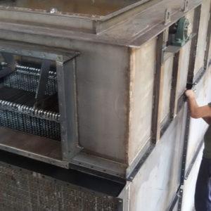 Scambiatori di calore fumi-aria autopulente