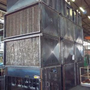 Scambiatori di calore fumi-aria per recupero calore da fumi di forno ceramico
