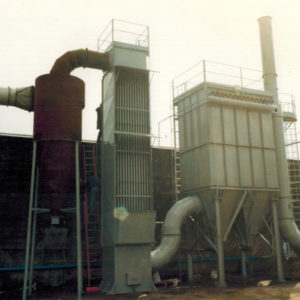 Scambiatori di calore fumi-aria per fumi da cubilotto e forni rotativi per produzione ghisa